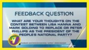 TVJ News: Feedback Question - October 27 2020 3