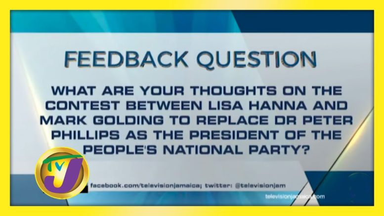 TVJ News: Feedback Question - October 27 2020 1