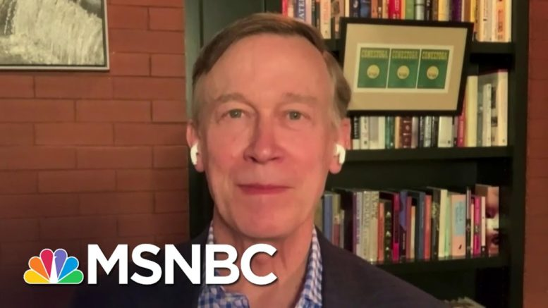 Hickenlooper: Coloradans Are 'Tired Of The Same Old Nothing Happening In Washington' | The Last Word 1