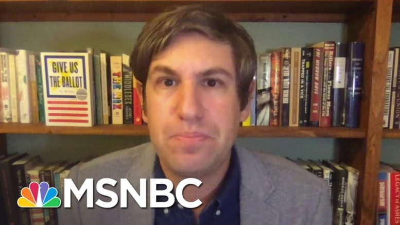 Ari Berman: Record Early Voting Suggests Voter Suppression Is Backfiring | The Last Word | MSNBC 1