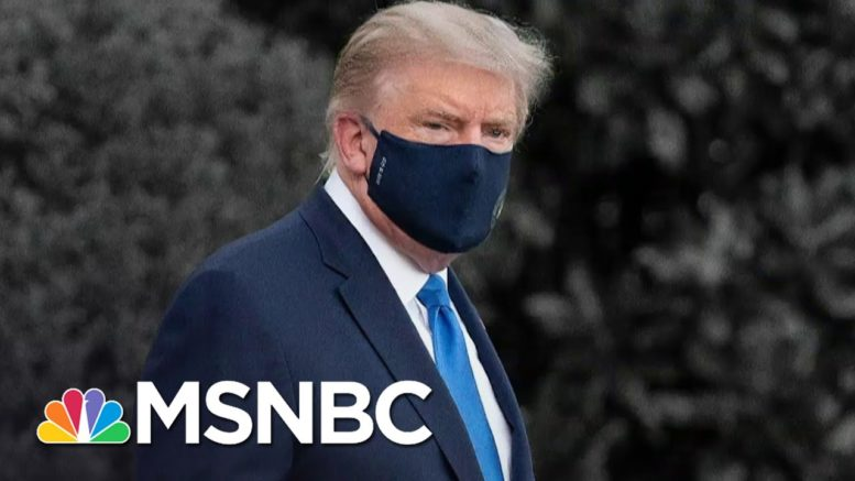 Questions Over Trump's Condition After Covid-19 Hospitalization | The 11th Hour | MSNBC 1