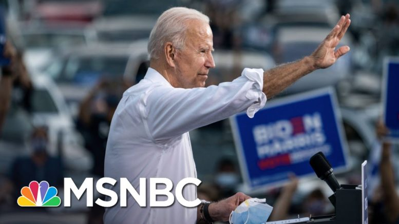Fmr. Obama Aide Robert Gibbs: This Is Biden's Race To Lose | The 11th Hour | MSNBC 1