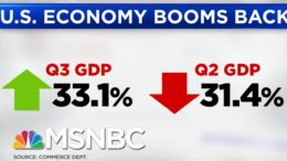 U.S. GDP Grows 33 Percent, Still Below Pre-Pandemic Levels | Hallie Jackson | MSNBC 6