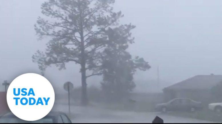 Hurricane Zeta unleashes fury on Louisiana coast   USA TODAY 1