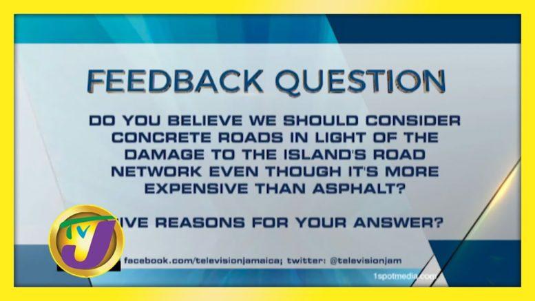 TVJ News: Feedback Question - October 28 2020 1