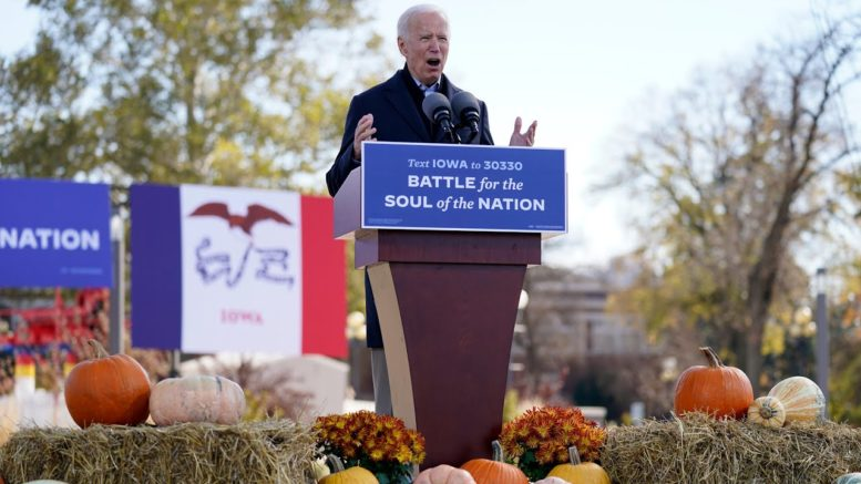 Biden: 'We're going to work for every single vote' 1