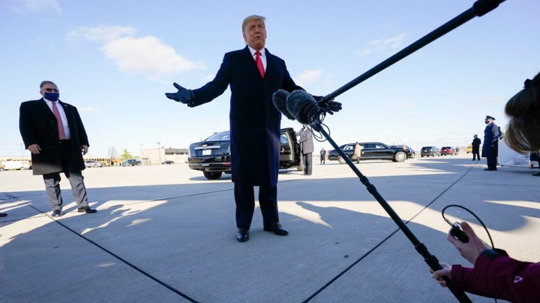 Trump says he has 'biggest crowds' in political history 1