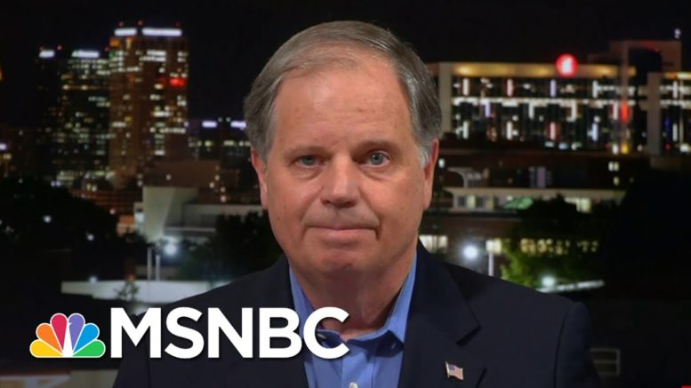 Sen. Doug Jones: Alabamians 'See Me As Someone Who Has Had Their Back' | The Last Word | MSNBC 1