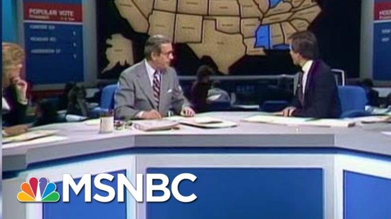 Tom Brokaw Recalls The 1980 And 2000 Elections | Morning Joe | MSNBC 1
