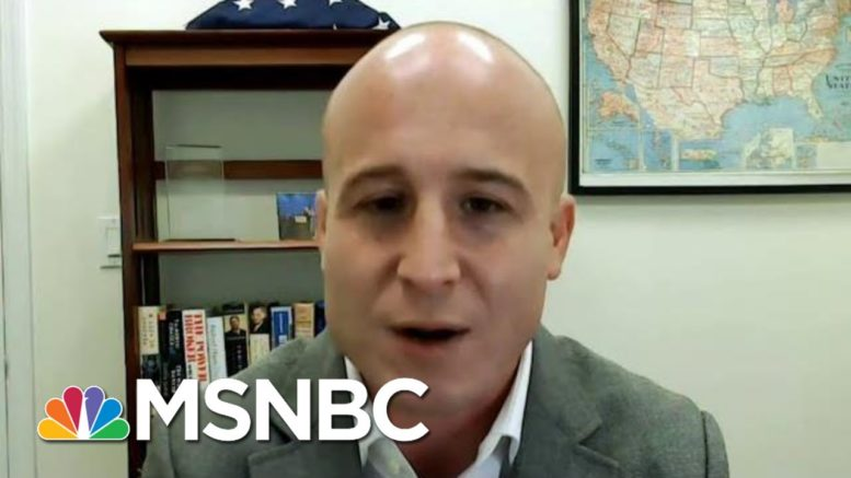Congressman In Re-Election Fight Calls For Partisanship On Virus Relief   Morning Joe   MSNBC 1