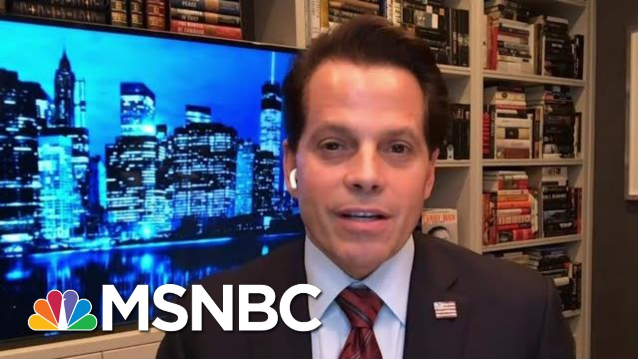 Scaramucci: Trump Is Trying To Find 'One Hail Mary Strike On The Map' | MTP Daily | MSNBC 9