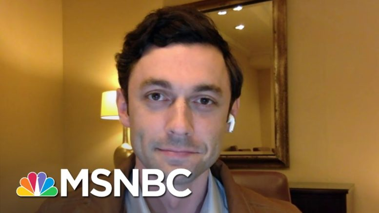 Jon Ossoff: Sen. Perdue 'Doesn't Have Good Answers To The Questions Georgians Are Asking Him' 1
