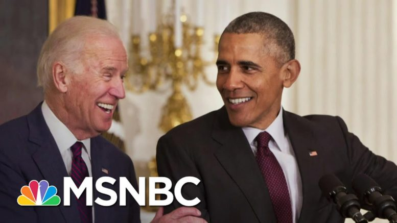 Joe Biden And Barack Obama Hit The Campaign Trail Together For The First Time | Deadline | MSNBC 1