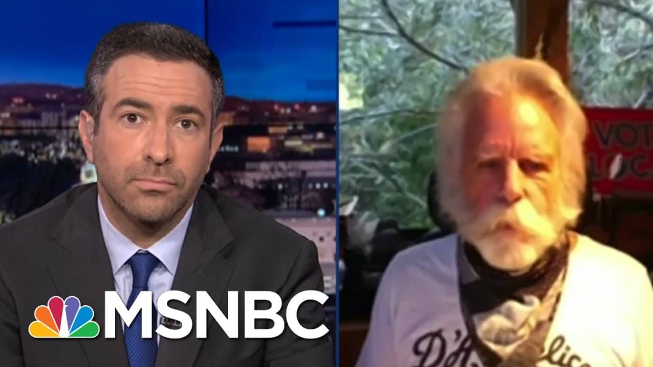 As Trump Trails Biden In The Polls, Bob Weir Rallies First-Time Voters | The Beat With Ari Melber 3