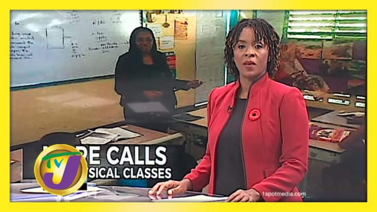 More Calls for Face to Face Classes - October 29 2020 1