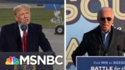 Trump, Biden On The Attack In Midwest As Virus Outbreaks Soar | The 11th Hour | MSNBC 5