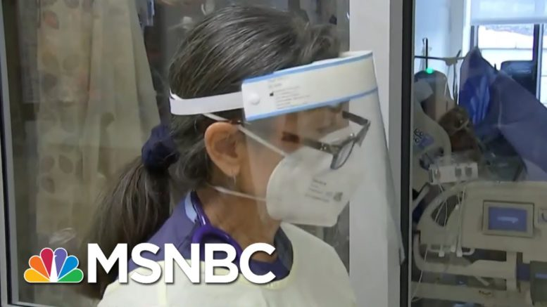 Rate Of Covid-19 Deaths Leaves Hospital Workers Traumatized | Rachel Maddow | MSNBC 1