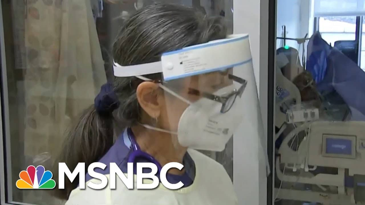 Rate Of Covid-19 Deaths Leaves Hospital Workers Traumatized | Rachel Maddow | MSNBC 5