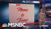 Memo to Trump: 'You Believe That Racism Is Inherently American' | MSNBC 4