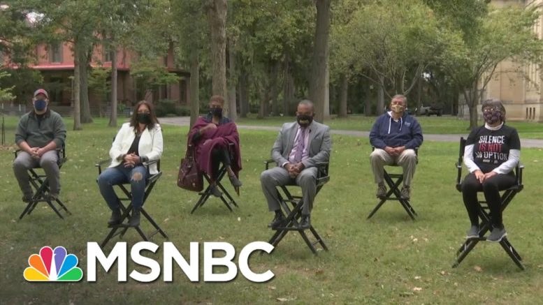 Ohio Voters Discuss Trump's Response To The COVID Pandemic: 'An Absolute Disaster' | MSNBC 1
