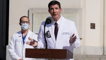 White House physician Sean Conley dodges questions about U.S. President Trump's health 6