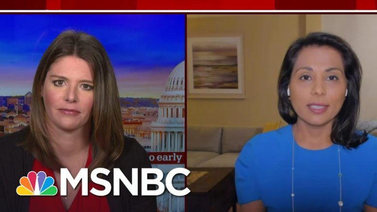 Masks Remain Optional At The White House | Way Too Early | MSNBC 1