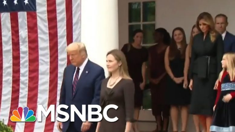 Members Of Trump's Inner Circle Test Positive For Covid-19 | Morning Joe | MSNBC 1