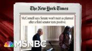 Senator Predicts 'Procedural Mischief' On SCOTUS Nomination | Morning Joe | MSNBC 4