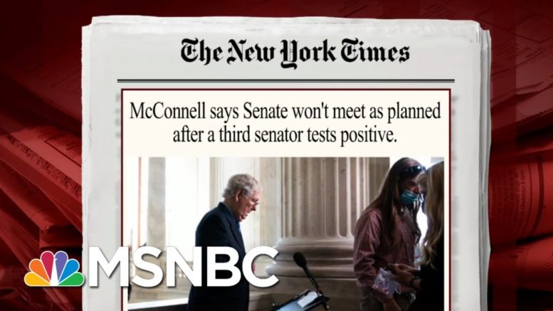 Senator Predicts 'Procedural Mischief' On SCOTUS Nomination | Morning Joe | MSNBC 1