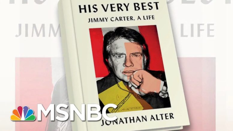 New Book Looks At The Life Of Jimmy Carter | Morning Joe | MSNBC 1