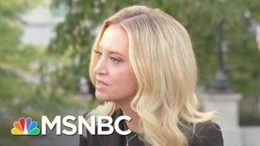 Kayleigh McEnany Spoke To Reporters Without Mask Day Before Covid-19 Diagnosis   MSNBC 6