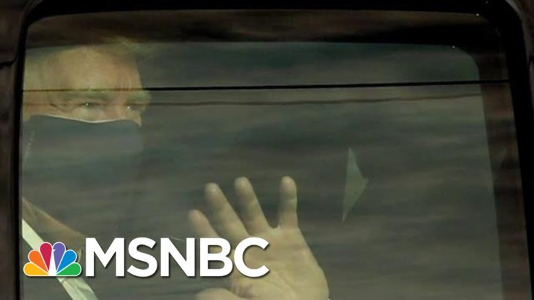 Trump Receiving Dexamethasone, A Steroid Reserved For Sickest Covid-19 Patients | MTP Daily | MSNBC 1