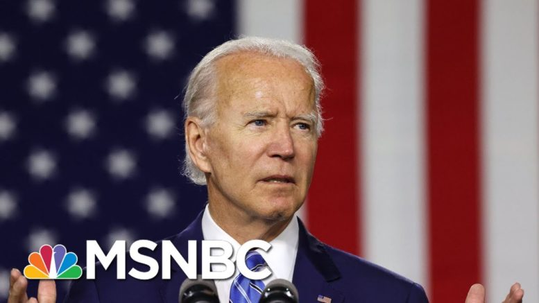 NBC News/WSJ Poll: Biden Up 14 Points Over Trump Following The Debate | MTP Daily | MSNBC 1