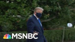 Trump Tweets: 'I Will Be Leaving The Great Walter Reed Medical Center Today At 6:30 PM' | MSNBC 5