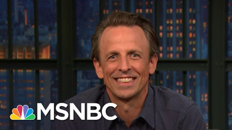 Seth Meyers: This Past Week Is Like One Of Those 'Awful Roller Coasters That Somehow Only Go Down' 1