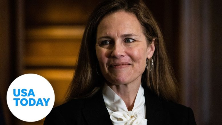 Judge Amy Coney Barrett talks Roe v. Wade, what a Trump Supreme Court would look like | USA TODAY 1