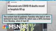 WH Cautions WI Amid Rampant Covid Spread; Trump Plans Rallies In Wisconsin | Rachel Maddow | MSNBC 5