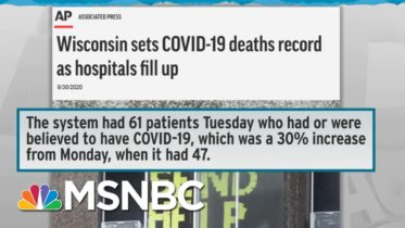 WH Cautions WI Amid Rampant Covid Spread; Trump Plans Rallies In Wisconsin | Rachel Maddow | MSNBC 6