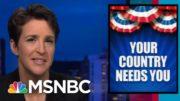 Maddow: Resist Trump's Strategy Of Destroying U.S. Politics, Discouraging Decent Americans   MSNBC 5