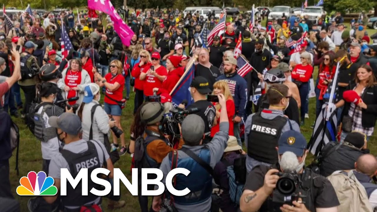 ADL CEO: Proud Boys Don't Below In The Political Conversation   The 11th Hour   MSNBC 6