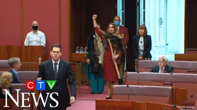 Australian state's first Aboriginal senator sworn in 1