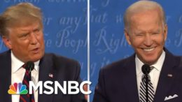 GOP Faces Harsh Questions After Chaotic Trump Debate Outing | The 11th Hour | MSNBC 9