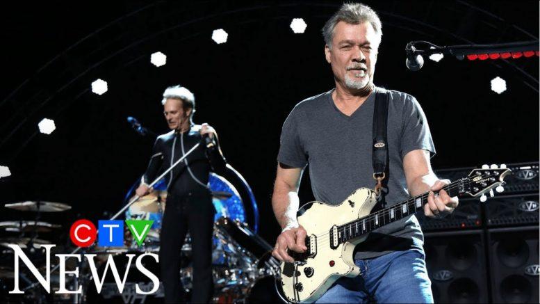 Rock legend Eddie Van Halen dies of cancer at age 65 1