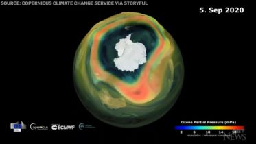 2020 ozone hole over Antarctica reaches its maximum size 6