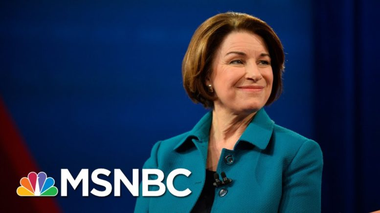 Klobuchar: 'Absolutely Outrageous' To Move Forward With SCOTUS Nomination Hearings   MSNBC 1
