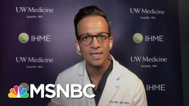 Trump Treatment Suggests Covid-19 Pneumonia; White House Oddly Evasive On Health Details | MSNBC 1