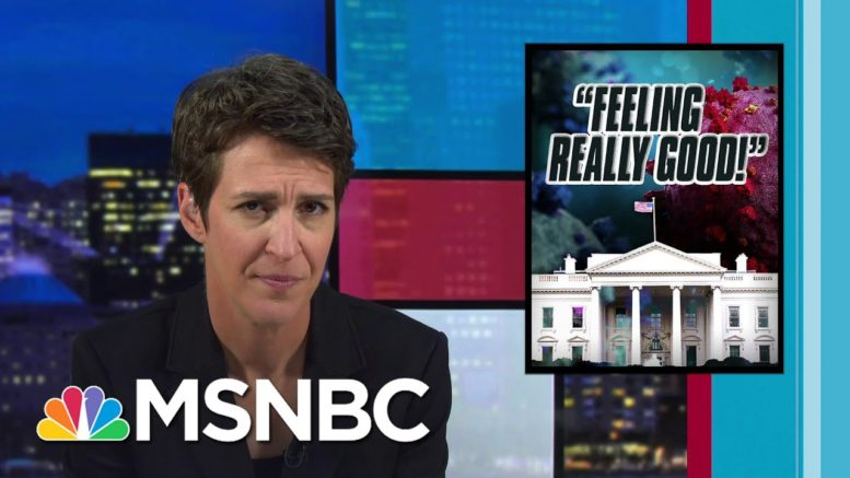 Trump's Last Negative Covid Test Among Key Information White House Keeping From Public | MSNBC 1