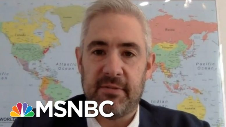 How The Globe Is Reacting To WH Handling Of Coronavirus | Way Too Early | MSNBC 1