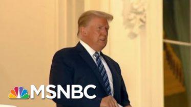Trump Returns To WH, Says To Not Be Afraid Of Coronavirus | Morning Joe | MSNBC 6