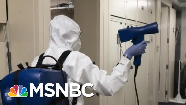 Joint Chiefs Of Staff Go Into Quarantine After Potential Covid Exposure | MTP Daily | MSNBC 1